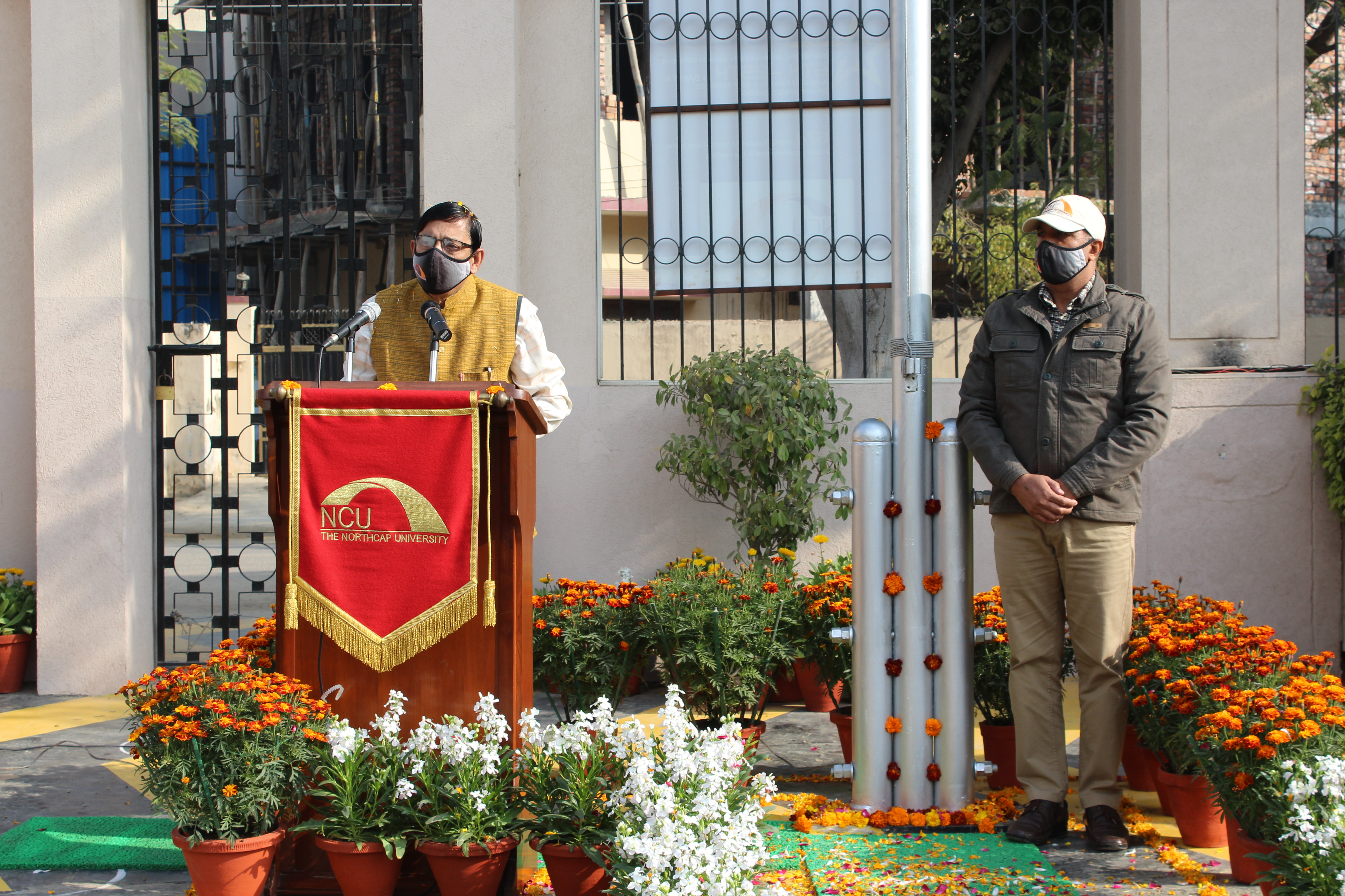 The NorthCap University Vice Chancellor's Address on 72nd Republic Day