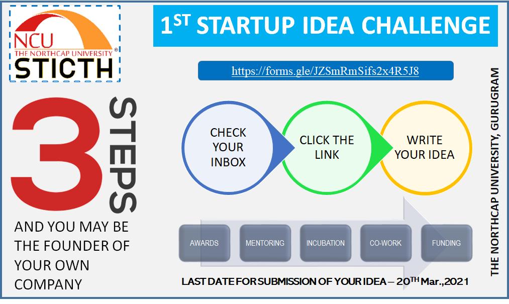 1st Startup Idea Challenge