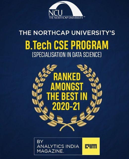 B.Tech CSE Programm (Specialisation in Data Science)