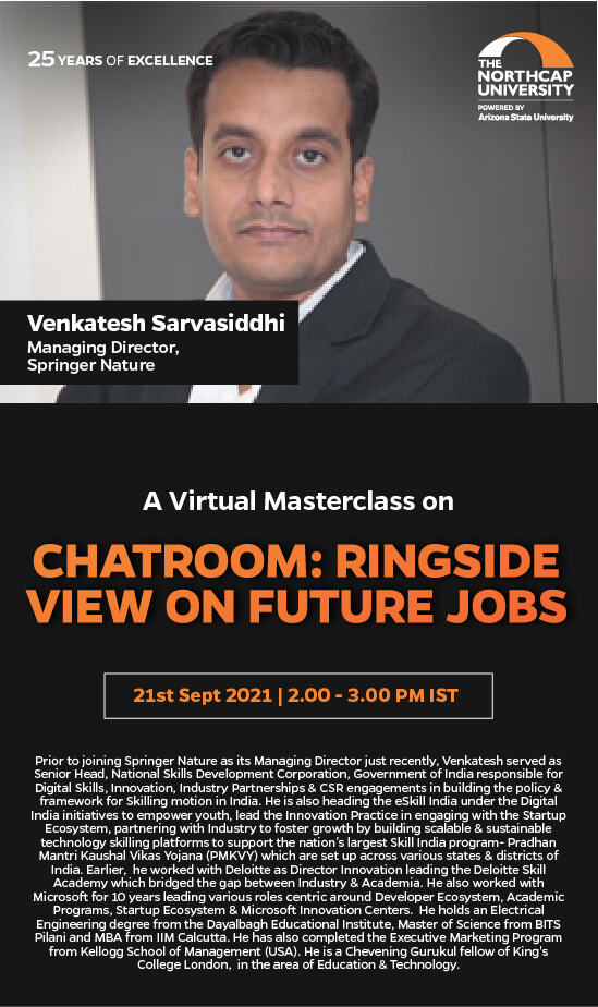 Chatroom : Ringside view on future jobs