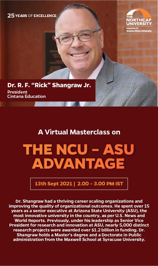 The NCU - ASU Advantage